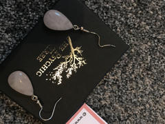 The Psychic Tree Rose Quartz Teardrop Earrings Review