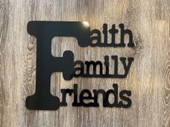 DXFforCNC.com Faith Family Friends Saying Review