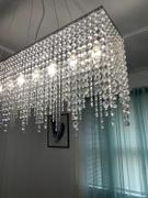 7PM Home Rectangle Linear Crystal Chandelier Review