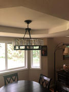 7PM Home Industrial Farmhouse Crystal Chandelier Review