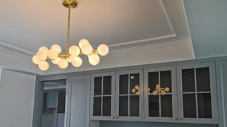 7PM Home Contemporary Ball Linear Chandelier Review