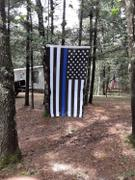 Thin Blue Line Shop Thin Blue Line American Flag - 3 by 5 Foot Flag with Grommets Review