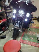 Rogue Rider Industries 7 RRI Blazemaker V1 LED Headlight with Auxiliary Passing Lamps Review