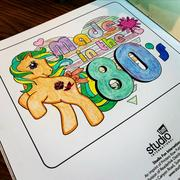 AlwaysFits.com My Little Pony Retro Coloring Book Review
