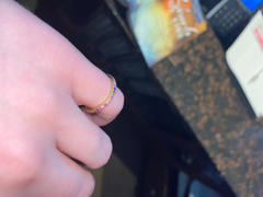 Elevated Faith Rainbow Ring Review