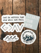 Elevated Faith Mystery Sticker 4-Pack Review