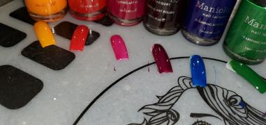 Maniology Rainbow Splash: 6-Piece Master Set - Sheer Tint Stamping Polish Collection Review