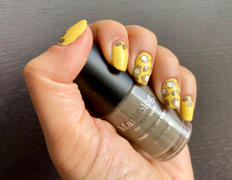 Maniology Stocking Stuffer: Down the Chimney (B311) Taupe Stamping Polish Review