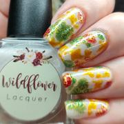 Maniology Lunar New Year: Koi Pond (m112) - Nail Stamping Plate Review