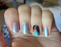 Maniology Hazy Rainbows (m147) - Nail Stamping Plate Review