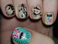 Maniology X-Mas Nightmare: Pumpkin King (m165) - Nail Stamping Plate Review