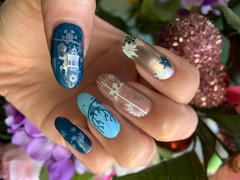 Maniology Snowflake Waltz: 6-Piece Master Set - Creamy Creative Art Stamping Polish Collection Review