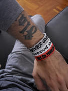 Deuce Brand DEUCE LEGACY WRISTBAND - UNDERDOG MENTALITY | WHITE/BLACK/RED Review