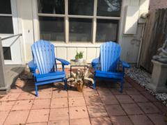 My Backyard Decor Deluxe Adirondack Chair Poly Lumber Made in the USA Review