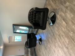 Salon Guys Icarus Young Black Beauty Salon Styling Chair, Round Base Review