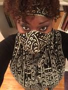 D'IYANU Seda African Print Knit Scarf (Black White Tribal) Review