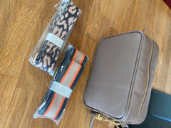 Elie Beaumont London Crossbody Grey (Tricolour Strap) Review