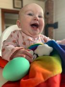 The Teething Egg After the Storm Rainbow Security Blanket Review