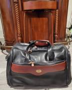 LAND Leather Santa Fe Rolling Garment Duffel Bag Review