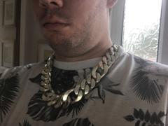 SilverWow 25mm Silver Figaro Chain Necklace Review