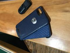 Vaja Row Top Matelasse Quilted Flip Top iPhone 7 leather case Review