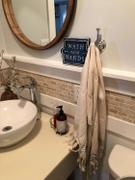 Olive and Linen Whisper Weight Turkish Hand Towel Review