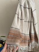 Olive and Linen Amber Linen Turkish Hand / Kitchen Towel Review
