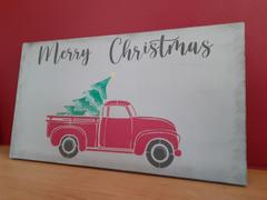 Essential Stencil Christmas Vintage Truck Stencil Set (2 Pack) Review