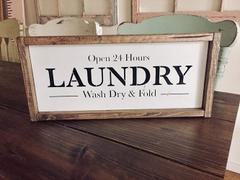 Essential Stencil Laundry Sign Stencil Review