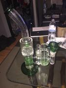 Toker Supply Thick 7mm Double Honeycomb Perc Bong Review