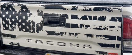 Ronin Factory DISTRESSED FLAG TAILGATE DECAL Review