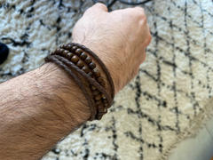Bijoux4men Pack Bracelet homme wrap | Le Mini Creek marron Review