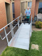 Ramp Champ PVI OnTrac Wheelchair Access Ramp with Handrails, 385kg Capacity Review