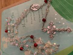 Christian Catholic Shop Divine Mercy Grace Rosary by Risen Rosaries Review