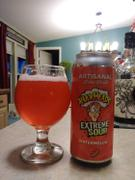 CraftShack® Artisanal Brew Works Warheads Watermelon Sour Ale Review