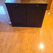 Lovemade14 tilt out trash double bin black (D-B-stain) Review