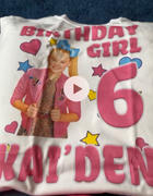 cuztomthreadz Personalize Jojo Siwa Birthday Shirt Review