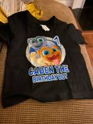 cuztomthreadz Personalize Puppy Dog Pals Birthday Shirt Review