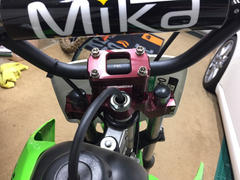 Factory Minibikes Pro Circuit Top Clamp and Bar Mount - KLX110/L Review
