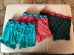 The Ellen DeGeneres Show Shop Ellen Show Pine Tree Boxers - Green Review