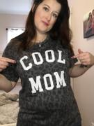 Closet Candy Boutique Cool Mom Leopard Graphic Tee - Charcoal Review