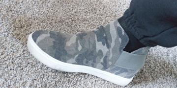 Closet Candy Boutique Gone For Now Wedge Sneakers - Camo Review