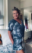 Closet Candy Boutique But First A Nap Tie Dye Loungewear - Charcoal Review