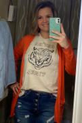 Closet Candy Boutique Get Em Tiger Graphic Tee - Natural Review