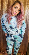 Closet Candy Boutique Hit The Road Tie Dye Loungewear - Blue Skies Review