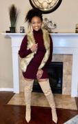 Closet Candy Boutique Vest With The Fur - Natural Review