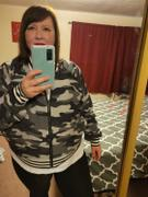 Closet Candy Boutique CBRAND I've Heard It Both Ways Reversible Bomber Jacket - Camo Review