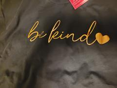 Closet Candy Boutique PREORDER Be Kind Foil Heart Tee - Black Review