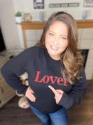 Closet Candy Boutique Lover Graphic Sweatshirt - Black Review