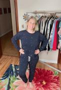 Closet Candy Boutique THREAD & SUPPLY Dreamer Loungewear - Navy Paint Splatter Review
